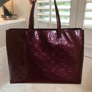 9820e9fbe4f38 Louis Vuitton Bags - Louis Vuitton Amarante Wilshire GM Tote